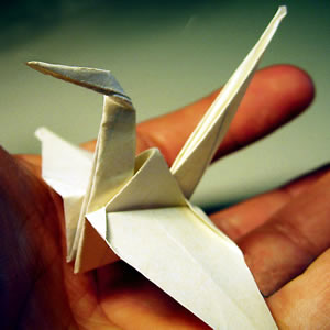 Origami Schwan